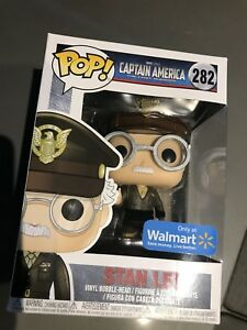Stan Lee Captain America First Avenger Funko Pop Exclusive