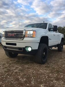 2009 gmc 2500hd lifted duramax diesel