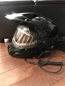 CKX Snowmobile helmet with electric shield