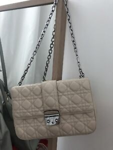 Christian Dior ivory beige white quilted bag QUICK SALE -REDUCED!!!! Docklands Melbourne City Preview