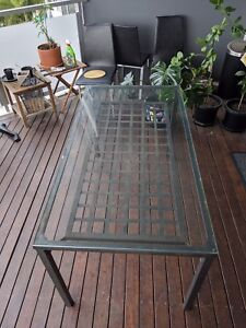 Dining or Outdoor Glass Table