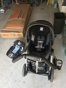 Peg Perego the book stroller and Car seat