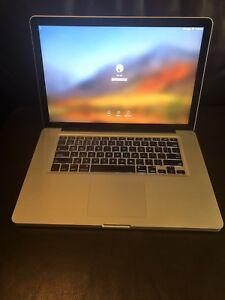 """MacBook Pro 15"""" Core i7 2.4Ghz 128SSD 8GB RAM 2011 w MS Office"""