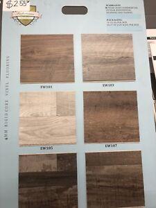 Luxury Vinyl Floors starting at $2.55 SF