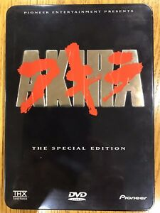 DVD Movie: Akira Special Edition (anime)