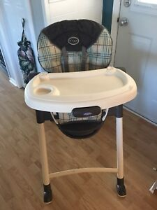 Graco folding high chair