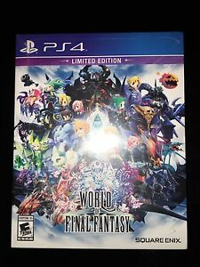 World of Final Fantasy PS4 Day One Brand New