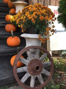 Variety of outdoor vintage decor & more!