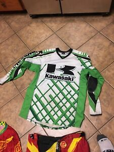 Motor cross jerseys and chest protector