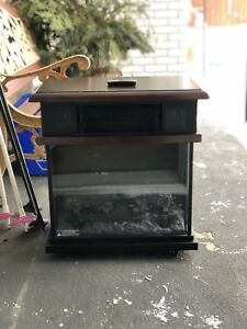 Infrared heater -Fireplace