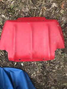 Red skidoo zx chassis belly pan