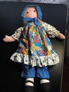 Vintage Large Original Holly Hobbie doll