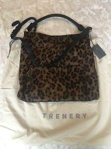 Trenery Black Leather Leopard Print Bag Bnwt Bags Gumtree Australia Whitehorse Area Blackburn 1180994281