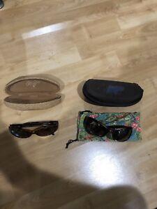 2 pair ladies Maui Jim fashion sun glasses