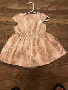 The children's place pink & gold dress