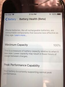 IPhone 6 new battery unlocked