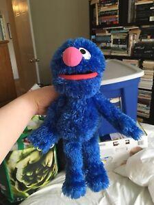 Plush Sesame Street character Grover