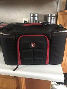 6 pack  meal bag