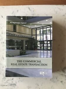 The Commercial Real Estate transaction textbook