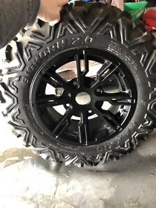 Stock Tire and Rim off Can Am Commander