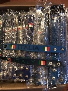 Italy lanyards and bracelets