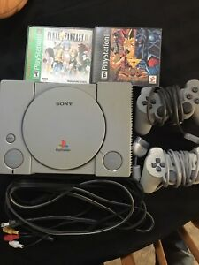 PlayStation 1 with 2 Games