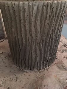 32Inch Concrete Tree Stumps