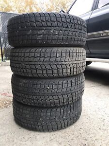 215/60r16 Winter tires LIKE NEW