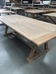 Dining table ex display clearance sale from $295