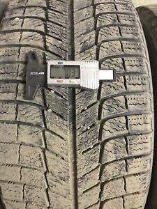 Four Michelin x ice x13 P225/45R17 94H winter tires