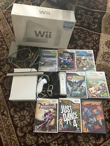 Nintendo Wii Game  bundle for sale (derry/McLaughlin)