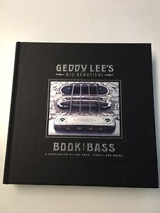 GEDDY LEE signed BOOK of BASS with Proof