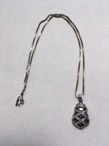 Natural topaz pendant necklace