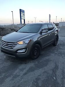 Well cared for 2013 Sante Fe  Hyundai Sport LE