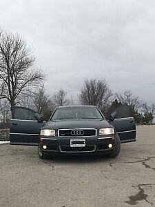 Audi A82004 Quattro Boss of the road Drive