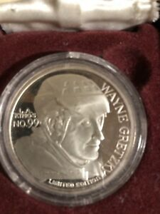 Wayne Gretzky athlete of the year silver dollar