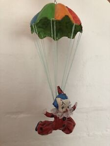 Vintage Parachute Clown  Made From Paper Mache Balwyn North Boroondara Area Preview