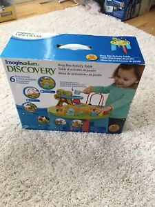Brand new toddler baby Imaginarium Discovery activity table