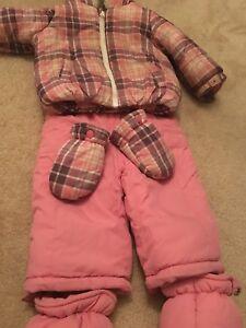 6-12 months snow pants
