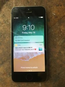 iPhone 5s 16 gigs mint condition