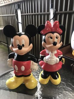 Mickey and Minnie rare collectibles