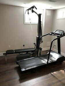 Bow flex and tread mill