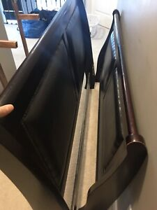 Free wooden bed