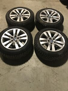 BMW 3-Series rims and tires