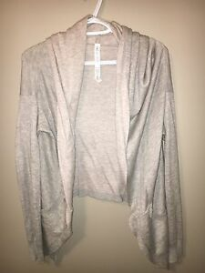 NEW Beige Lululemon Cardigan sweater 8