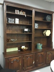 Solid Wood Extra Large Wall Unit