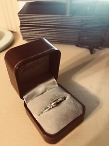 16 K White Gold Bridal Ring set (price reduced to sell)