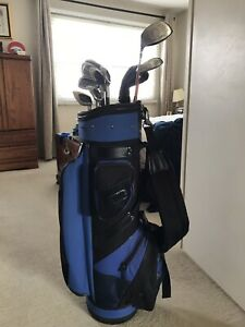 Used golf club set with bag