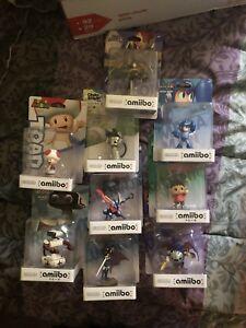 Various Amiibo