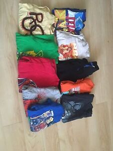 4t-5t long sleeve and short sleeve lot